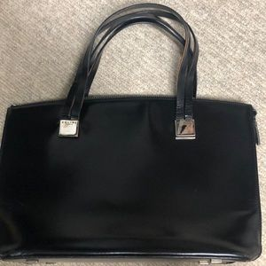 Celine vintage leather tote bag